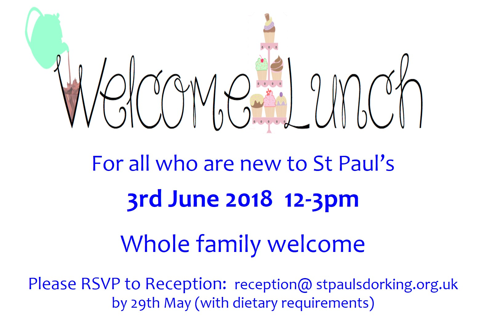 Welcome lunch June 2018